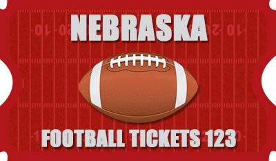 Nebraska Football Tickets 123 Logo